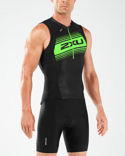 2XU - Compression Tri Singlet - Men's - 2018