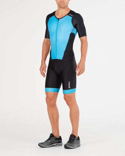 2XU - Perform Full Zip Sleeved Trisuit - Men's - 2018