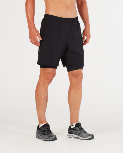 "2XU - Men's Run 2 in 1 Comp 7"" Shorts - 2018"
