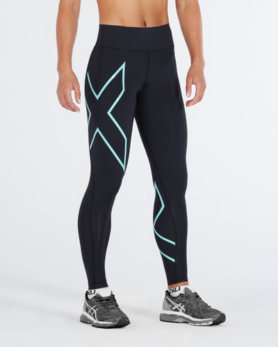 2XU - Women's Bonded Mid-Rise Compression Tights - 2018