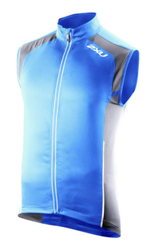 2XU Vapor Mesh 360 Run Vest - Men's - BTB/CHR