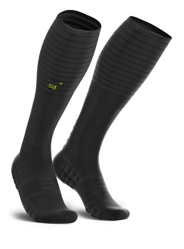 Compressport - FULL SOCKS OXYGEN - BLACK EDITION 10