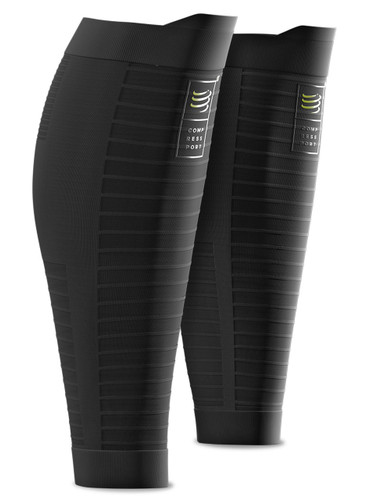 Compressport - R2 OXYGEN CALF SLEEVES - BLACK EDITION 10