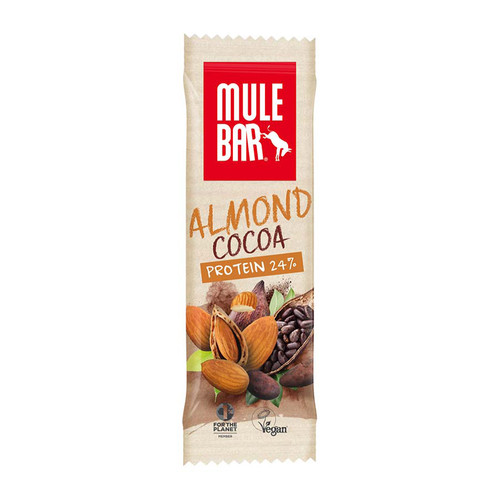 MuleBar - Protein Bar Almond Cocoa 42g (Box of 15 bars)