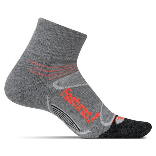 Feetures - Elite Merino Cushion Quarter Sock