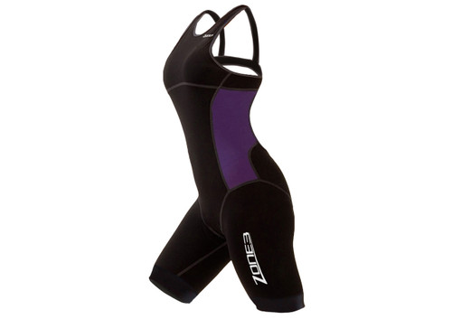 Zone 3 Womens Aeroforce Nano Trisuit - Black / Lilac
