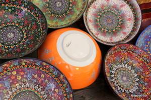 Special Kabartma Ceramic bowls - 30cm