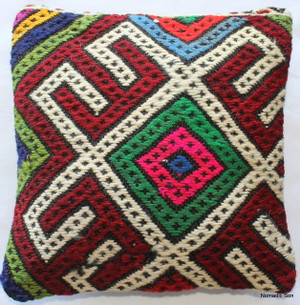 Tiny Kilim Cushion Cover #30