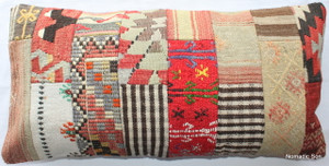 Vintage kilim cover rectangle (40*80cm) #PWR11