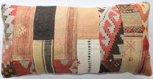 Vintage kilim cover rectangle (40*80cm) #PWR12