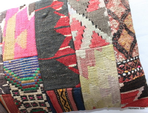 Vintage kilim cover rectangle (40*80cm) #PWR15