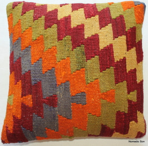 Tiny Kilim Cushion Cover #40