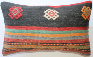 Vintage kilim cover - small rectangle #SR22