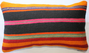 Vintage kilim cover - small rectangle #SR35