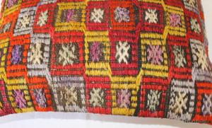 Vintage kilim cover rectangle (35*50cm) #TR32