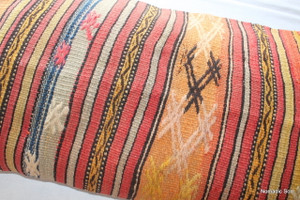 Vintage kilim cover rectangle (40*80cm) #LR15