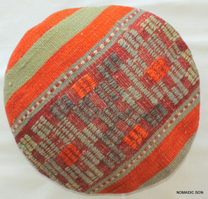 Kilim Cushion Cover Round (35cm) #RS4