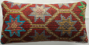 Vintage kilim cover - quarter rectangle (25*50cm) #QR25