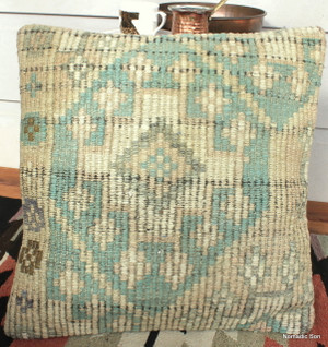 Vintage kilim cover - small (40*40cm) #129