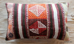 Vintage kilim cover - small rectangle (30*50cm) #SR68