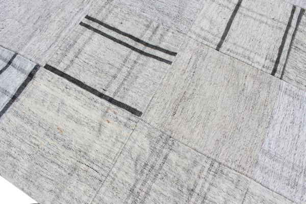 'Hamptons' Patchwork kilim runner (#G273) 79*401cm
