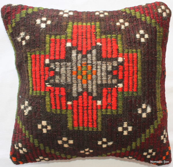 Kilim Cushion Cover (35*35cm) #12