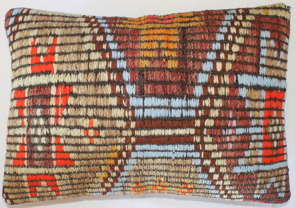 Vintage kilim cover rectangle (35*50cm) #TR6