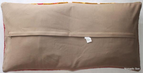 Vintage kilim cover rectangle (40*80cm) #LR33