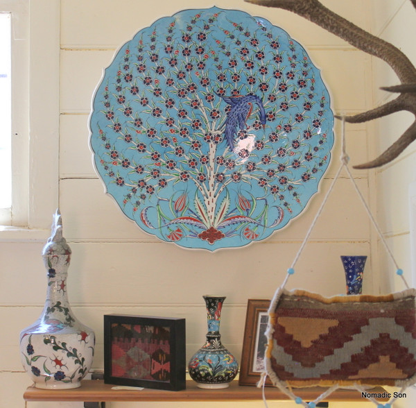 'Tree of Life' Hanging Plate - 55cm