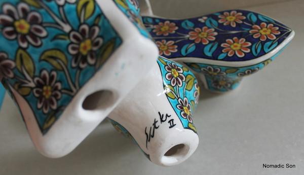 'Sitki' Unesco Collection - Hammam Shoes 22cm