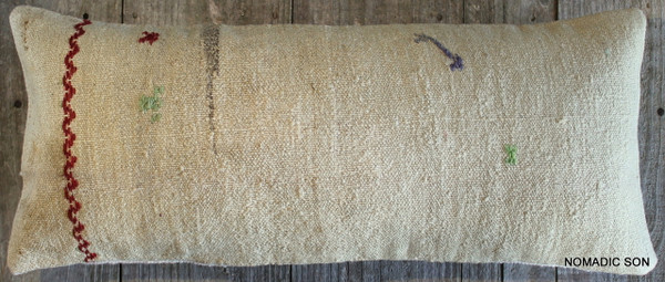 Vintage Kilim cover rectangle (30*70cm) #L3713