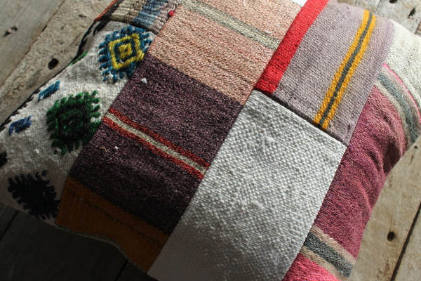 Vintage kilim cover - small (40*40cm) #519