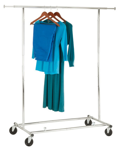 Heavy Duty Adjustable Commerical Clothes Rail