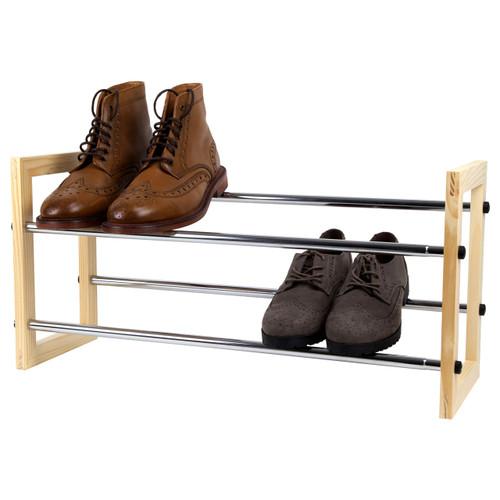 2 Tier Shoe Rack