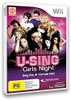 U-Sing Girls Night + 1 Logitech mic for Nintendo Wii