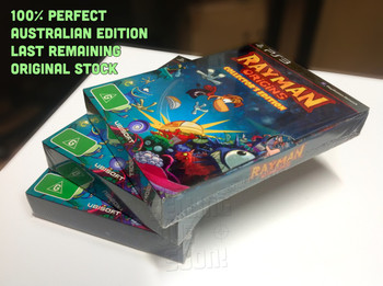 Rayman Origins Collectors Edition (PS3) Rare ANZ Version