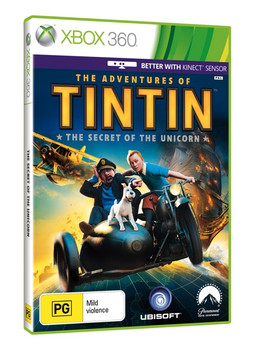 The Adventures of Tintin: The Secret of the Unicorn for Xbox 360