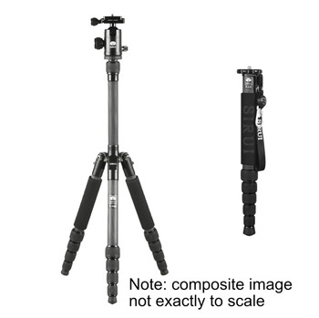 Sirui T-025X Carbon Fibre Tripod and P-326 Monopod traveller's bundle