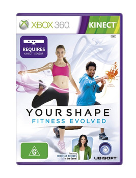 Your Shape Fitness Evolved for Xbox 360 Kinect