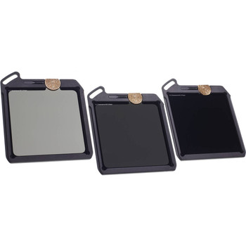 Wine Country Camera Blackstone ND Filter Kit (3, 6 and 10 Stop ND Filters with Holder Vaults)