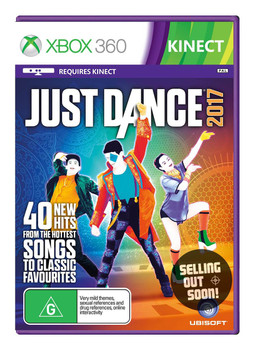 Just Dance 2017 Kinect (Xbox 360) Australian Version