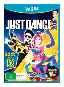 Just Dance 2016  (Wii U) Unlimited Australian Version