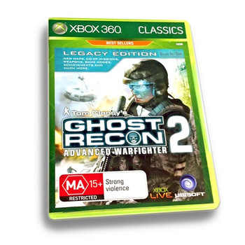 Tom Clancy's Ghost Recon Advanced Warfighter 2: Legacy Edition - Classics for Xbox 360