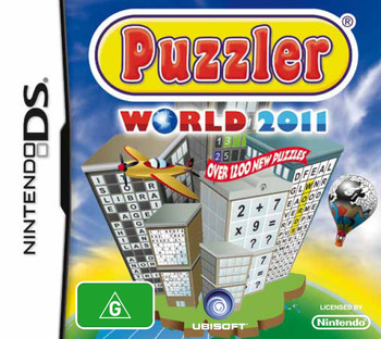 Puzzler World 2011 (NDS) Rare Australian Version