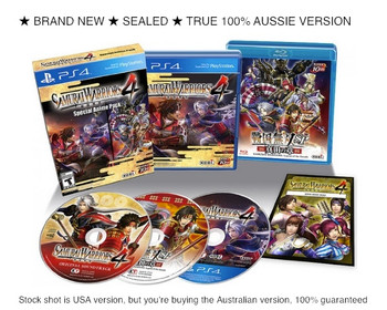 Samurai Warriors 4 Special Anime Edition (PS4) Collectors' Box Set