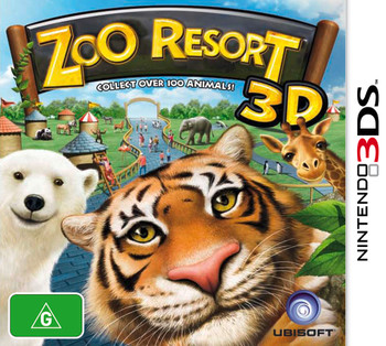 Zoo Resort 3D (Nintendo 3DS 2DS 3DSXL n3DS)