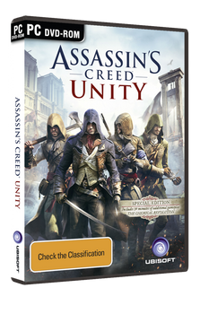 Assassin's Creed Unity Special Edition (PC) RARE First Pressing Australia