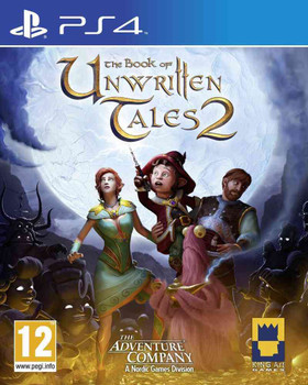 The Book of Unwritten Tales 2 (PS4) Official Euro PAL