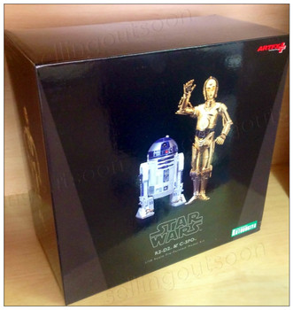 Star Wars C-3PO and R2-D2 ArtFX+ Statue Double-Pack (1st Edition + ENGLISH) Action Figures Kotobukiya