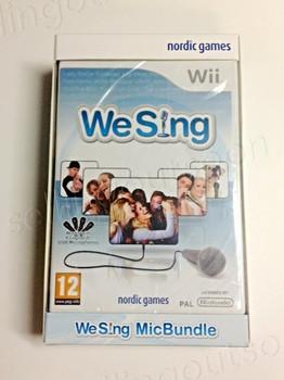 We Sing Game Bundle + 2 Microphones (Wii) (Wii U)
